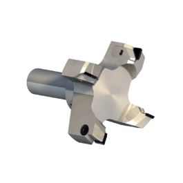 FPS3005 HIGH PRECISION SHANK CUTTER WITH INTERCHANGEABLE PCD INSERTS FOR PLANING SLAVE PANELS AND CNC MACHINE TABLES